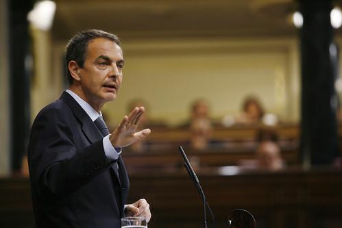 13-05-09 Zapatero, en la segunda sesión del Debate del Estado de la Nación
