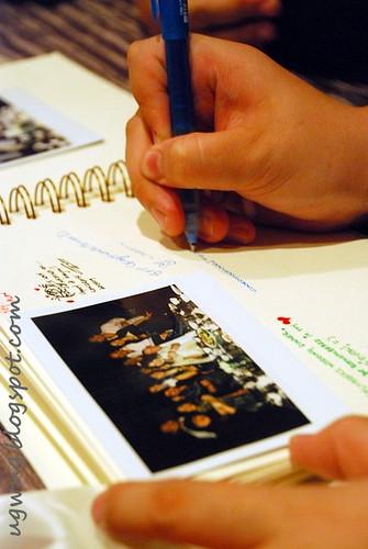 Signing Scrapbook