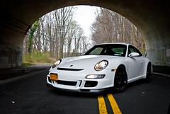911 Shooting (KlausKniehase / KneeRabbit) Tags: new york bridge usa white yellow lights nikon body 911 ct tunnel porsche kit gt3 d60