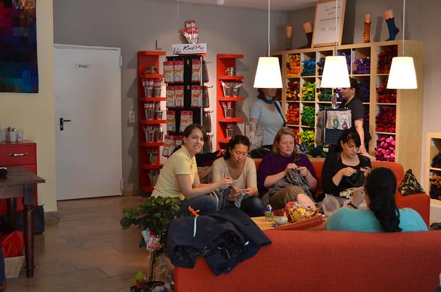 Trip to Pfaffenhofen / Wollmeise store