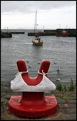 COCKENZIE BRA (tartandart) Tags: art festival harbour bra eastlothian cockenzie 3harboursartsfestival