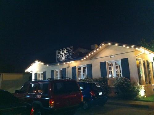 Doe's Eat Place in Baton Rouge, LA