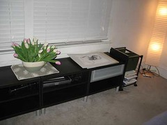 Low black bedroom furniture