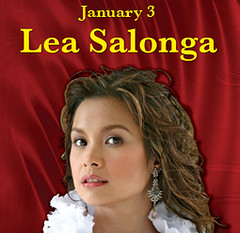 Lea Salonga had a rare Southern California concert appearance. (01/03/2008)