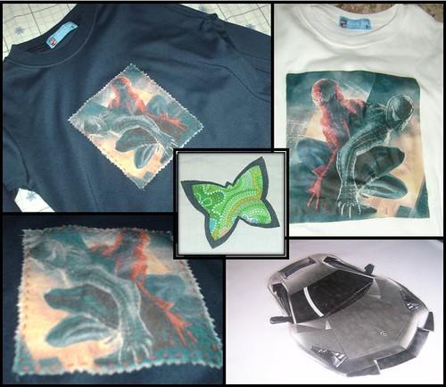 T-shirts + Pregadeira (Pin)