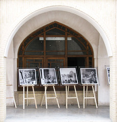 Photography Exhibition of Old Isfahan /     (Ali Vaez) Tags: persian iran persia exhibition iranian  iranians isfahan