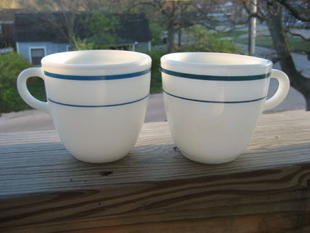 Pyrex & Anchor Hocking Mugs