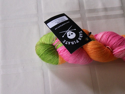 Yarn Pirate Bamboo/Merino - Sweet Lime