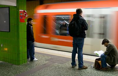 Altona Bahnsteig