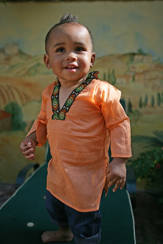 Genis in the Tolani (Citrus) tunic by weweclothing.