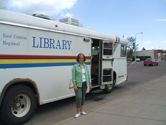 Bookmobile in Onamia