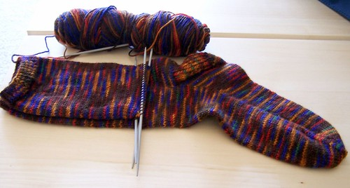the stockinette sock that never ends