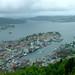 Blick vom Fløyen, Bergen, NO