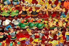 pupazzi Asterix - photo Goria - click