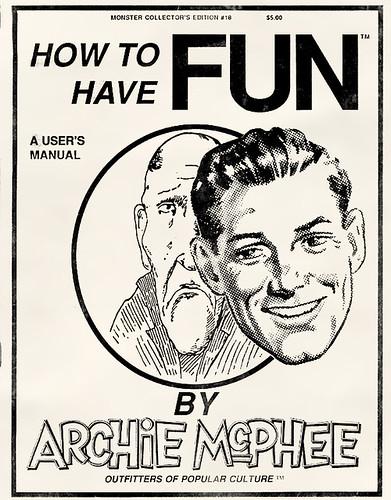 Archie McPhee Catalog Cover, Catalog 18, 1990