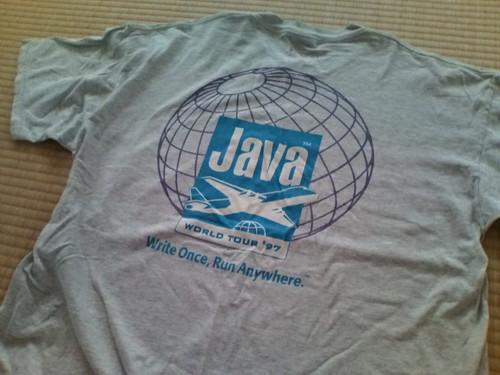 JAVA'97 Tシャツ