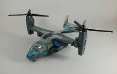 Transformer Incinerator Movie Voyager - modo alterno