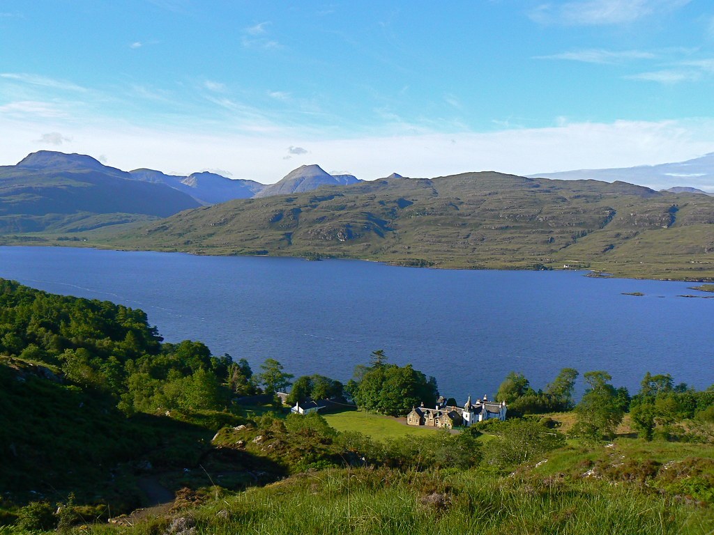 Loch Maree above Letterewe