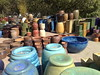 Pots in Half Moon Bay