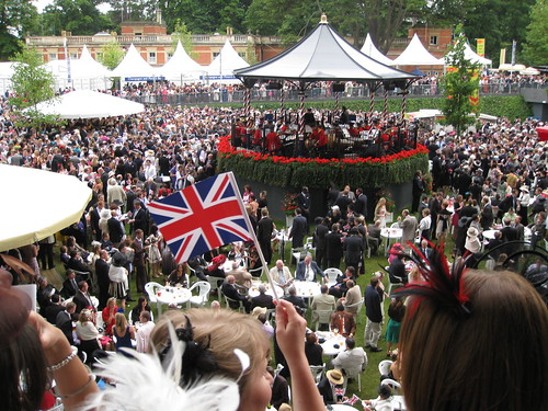 Band rotunda at Royal Ascot 2008