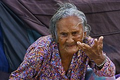 badjao (mmlim) Tags: old senior philippines elderly cebu begging filipinos alms badjao