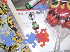frog stitch marker