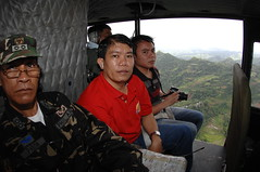 i'm not scared, you just caught me at the wrong moment... (jm.mejorada) Tags: aerial huey helicopter iloilo maasin bagyo typhoonfrank