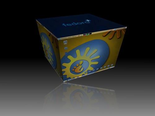 Aceleración 3D Compiz Cubo