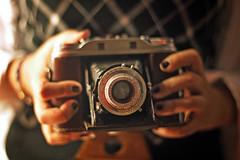 She's CLASSIC! (✧S) Tags: camera classic vintage cherry cam kissses cherrykisses orangeya mjlovesluluhehe vantoga3laqoltee