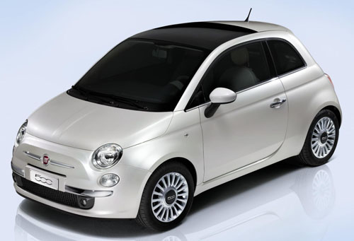 Foto de un Fiat 500 (2007)