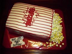 Popcorn Bag Cake
