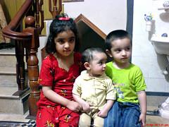 We three..... (Imran Khan - Always Pakistan First) Tags: family pakistan playing cute home smiling kids fun angels excitement zainab aisha tk guia abdullah sialkot mashaallah zeeimran420 jugnoo neikapura khaledmehmood mianapoora