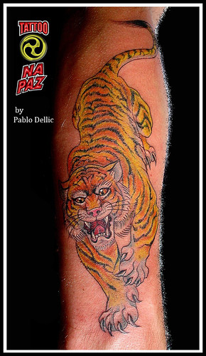 Tiger Tattoo by Pablo Dellic