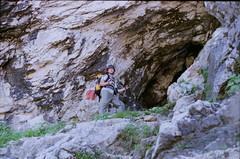 guffert (15) (peterheindl) Tags: mountain alps nature berg analog 35mm germany fun bavaria austria sterreich 2000 tour outdoor natur north via climbing peter summit alm meter alpen fujica wandern nord gebirge seite klettersteig nordwand ferrata gipfel bergtour heindl guffert rofan 2194 st901