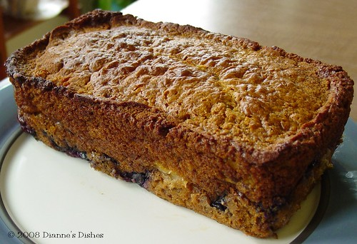 Honey Fruit Bread: The Loaf