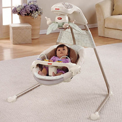 Fisher Price Nature's Touch Baby Cradle Swing