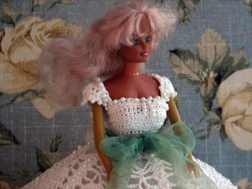 cheap Barbie with a fake tan