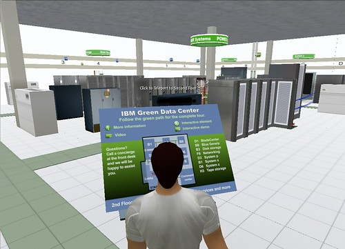 IBM Green Data Center in Second Life