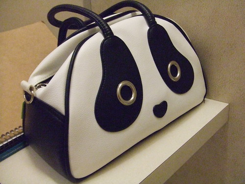 Panda Bag, Pandarama by Morn Creations