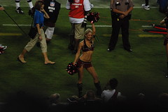 PreseasonBucsVsPats-0066 (awinner) Tags: game football cheerleaders stadium nfl cheerleader 2008 raymondjamesstadium preseason tampaflorida tampabaybuccaneers newenglandpatriots august2008 august17th2008