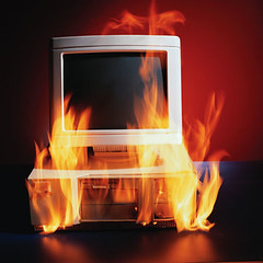 burning PC