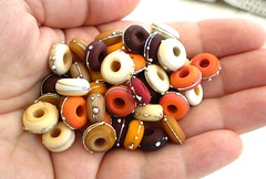 A handful of spice :0) (LushLampwork) Tags: glass beads handmade lampwork lushlampwork