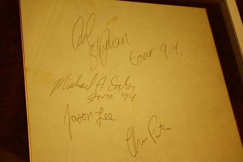 STEREO TOUR94' autograph