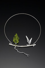 Root (Sarah Hood Jewelry) Tags: tree silver necklace branch sterling root modelrailroad metalsmith artjewelry tacomaartmuseum sarahhood castsilver sarahhoodjewelry