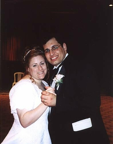 Our first dance - June 2001