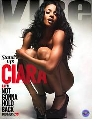 ciara naked vibe magazine