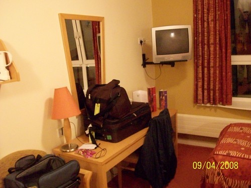 Ireland - room at Jurys Inn Galway
