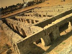 DSCN3074 ( jane_di ) Tags: light paestum antico rovine secco arido cilento romani archeologia greci