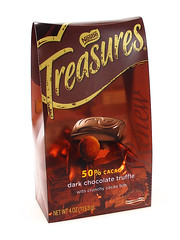 Nestle Treasures 50% Cacao with Nibs