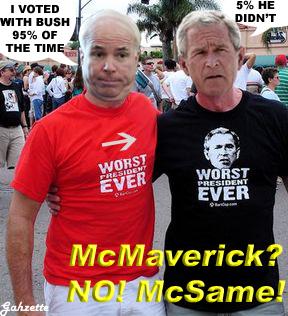 McMaverick McSame